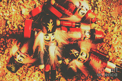 Toy Workshop Soldiers Print by Jorgo Photography - Wall Art Gallery