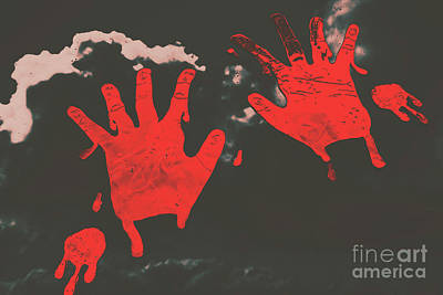 Trace Of A Serial Killer Print by Jorgo Photography - Wall Art Gallery