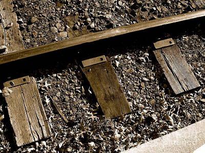 Rail Photograph - Tracks by Sergio Geraldes