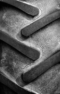 Tractor Photograph - Tractor Tread by Luke Moore