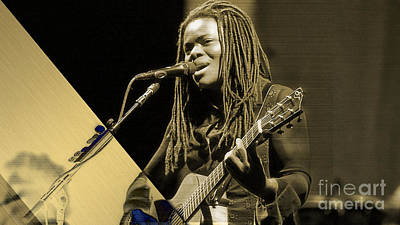 Tracy Chapman Collection Print by Marvin Blaine