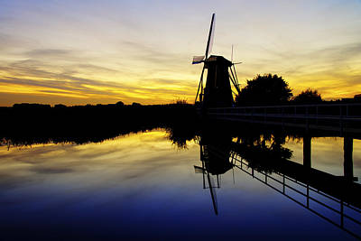 Windmill Photograph - Traditional Dutch by Chad Dutson