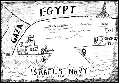 Traffic Safety At Sea Original by Yasha Harari