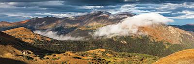 Trail Ridge Overlook Print by Thomas Schoeller