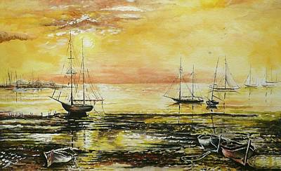 Tranquil Tide Print by Andrew Read