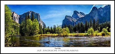 Tranquil Valley Poster Print Print by Az Jackson