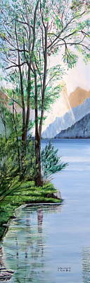 Tranquility 2 Print by Marilyn  McNish