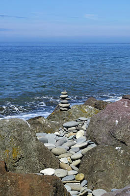 Photograph - Tranquility At The Sea by Tikvah's Hope