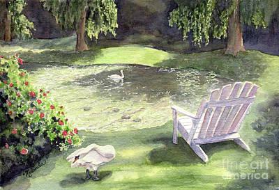 Tranquility  Print by Malanda Warner