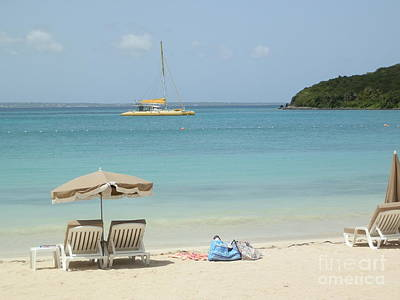 Beach Photograph - Tranquility Of Anse Marcel by Margaret Brooks