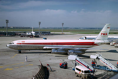 Fixed Wing Multi Engine Photograph - Trans World Airlines Twa Boeing 707 N780tw by Wernher Krutein