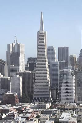 Photograph - Transamerica Pyramid In San Francisco by John Telfer