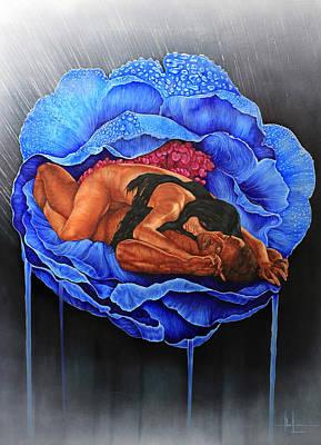 Human Sacrifice Art Painting - Transcending Love by Hari Lualhati