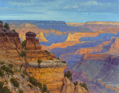 Canyon Painting - Transient Light by Cody DeLong