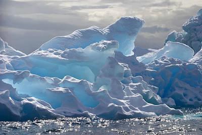 Translucent Iceberg Print by Ira Meyer