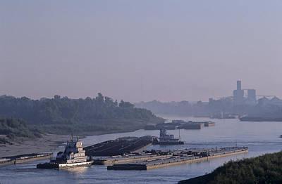 Transportation Of Goods Photograph - Transportation Of Goods On The River by Kenneth Garrett