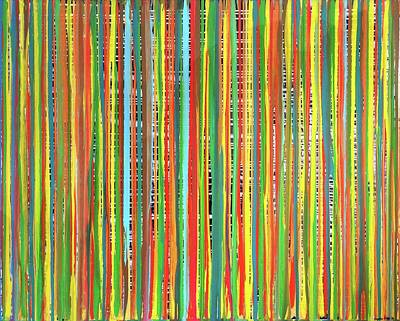 Traveling Stripes5 Original by Virginia Erdie