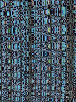Abstract Shapes Digital Art - Tread by John Edwards