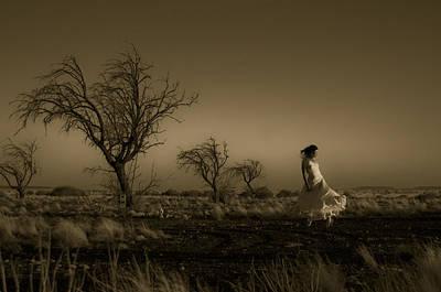 Gold Tone Photograph - Tree Harmony by Scott Sawyer