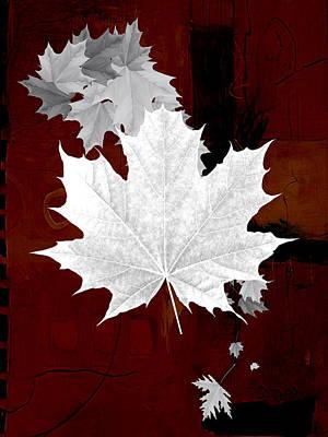 Tree Mixed Media - Tree Leaves Art by Marvin Blaine