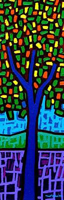 Tree Of Colour Print by John  Nolan