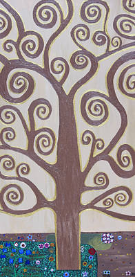 Tree Of Life Print by Angelina Vick