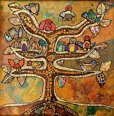 Tree Of Life Original by Carol Cole