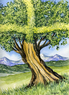 Tree Of Life Original by Mark Jennings