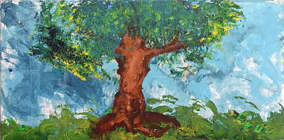 Tree Of Plenty Print by Empowered Creative Fine Art