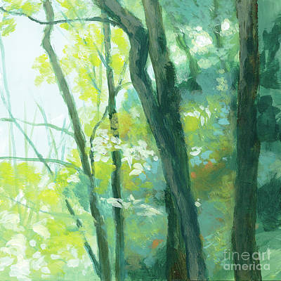 Painting - Trees 3 by Melody Cleary