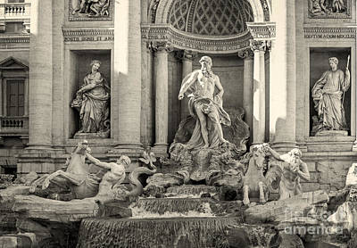 Trevi Fountain Print by Prints of Italy