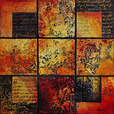 Trial Mixed Media - Trial By Fire by Cindy Johnston