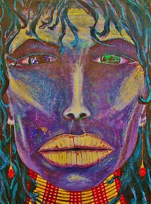 Tribal Print by Wayne Cantrell