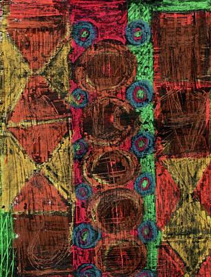 Tribal Wilderness Print by Natalie Bester