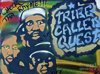First Tribes Painting - Tribe Called Quest by Tony B Conscious