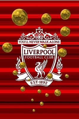 Liverpool Digital Art - Tribute To Liverpool 1 by Alberto RuiZ
