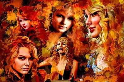 Tribute To Taylor Swift Original by Alex Martoni
