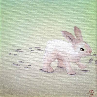 Daniel Wall Painting - Trickster 03 by Daniel Wall