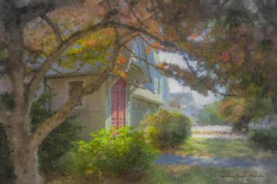Mcentee Painting - Trinity Episcopal Church, Bridgewater, Massachusetts by Bill McEntee