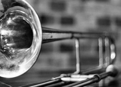 Trombone Photograph - Trombone by David  Hubbs