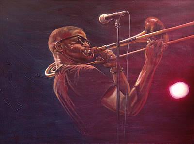 Trombone Shorty Original by Frans Mandigers