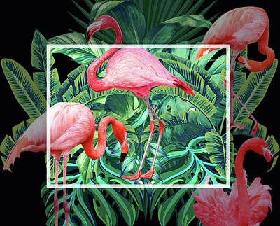 Nature Abstracts Photograph - Tropical Mood  by Mark Ashkenazi