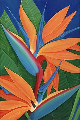 Tropical Paradise Print by Lisa Bentley