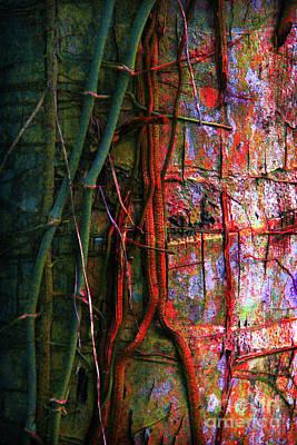 Fungal Digital Art - Tropical Parasitic  by Prarthana Kulasekara