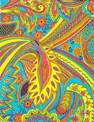 Tropical Sizzle Print by Ramneek Narang