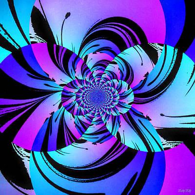 Fractal Digital Art - Tropical Transformation by Kathy Kelly