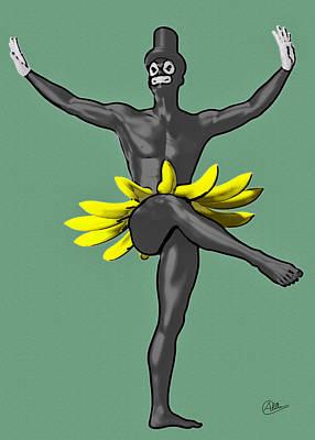 Bohemian Drawing - Tropicana Boy by Quim Abella