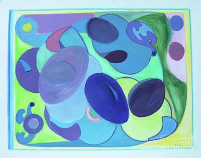 Mango Drawing - Tropicana by Elena Fattakova