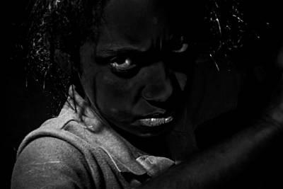 Carlos Ruiz Painting - Troubled Soul by Carlos Ruiz