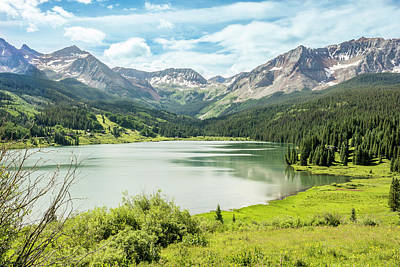 Dolores Photograph - Trout Lake Colorado by Jan and Burt Williams